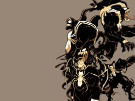 Symbiote Chaos Wallpaper by rizaturker