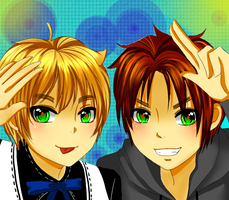 APH - With Brothers Like This by Honeybee723