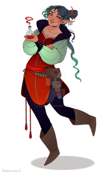 [CLOSED] Character Adopt 19/17 by larighne