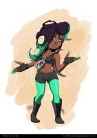 Marina Splatoon 2 by Gx3RComics