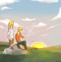 Brothers Elric by Perfectlykawaii93