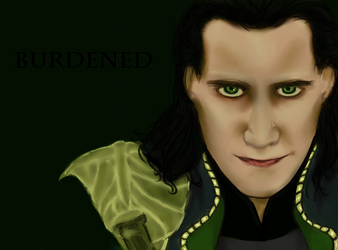 Burdened: Loki by Goblin-Queenie