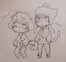 doggy tweek and kitty craig by TweekPark