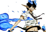 Rin Okumura : cOlOuRiNg PrAcTiCe : by Cynder94