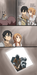 X-Over: Sword Art Online x Dark Souls by cyril002