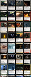Dark Souls  (I+II) Magic Card Prototypes by skywalker-96
