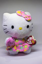 Hello Kitty Easter Ty Beanie Plush by Kitteh-Pawz