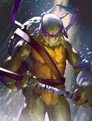 Donatello by danielmchavez