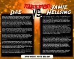 Tournament Match 7: Dae vs Hellsing by Dreamkeepers