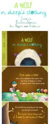 A Wolf in Sheep's clothing by mairimart