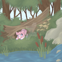 Exploring in the Woods by MinorRaindrop