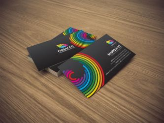 Fabulous business card by Lemongraphic