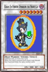 Chaos Umbreon card by Power1x