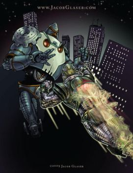 Robot Fight 02 by illgnosis