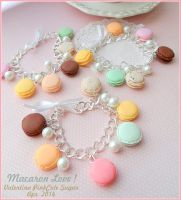 Realistic Macaron colorful fimo ! by Valentina-PinkCute