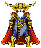 Odin by alexmicroheroes