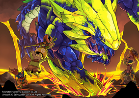 Brachydios Means Trouble by seiryuuden