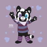 Henshoku The Black and White Red Panda by Daieny