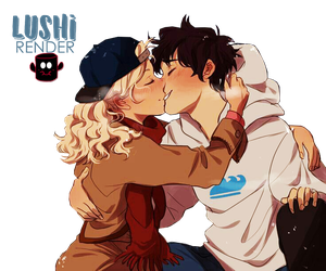 Percabeth - Winter Kiss by Lushi08