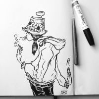 Inktober #12 Buckethats by MFMugen