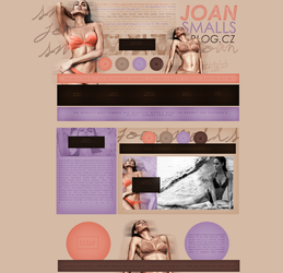 free design ft.  Joan Smalls by mosbiusdesigns