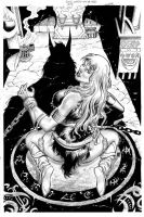 Red Sonja Unchained #03 Cover by wgpencil