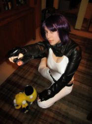 Major Kusanagi - Halloween 2011 by Elgaladwen