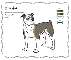 Bubba the Bulldogge by Varicellae