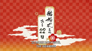 22 more days untill the wedding by Fu-reiji