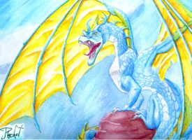 Blue Dragon by Rachet777