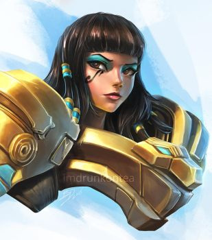 Asp Pharah by imDRUNKonTEA