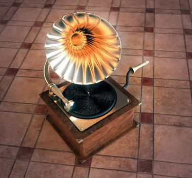 gramophone by SirLiss