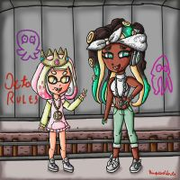 Pearl and Marina octo expansion by ninpeachlover