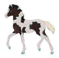 N3138 Padro Foal Design by casinuba