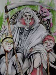 The Grim Adventures of Billy and Mandy by ApocalypticPorcelain