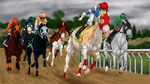 Pacific Classic Race by Caterang8