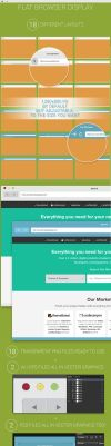 Flat Browser Display by MarinaD
