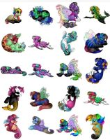 Pony Adoptables!!! Fillies and Colts! by ThePokemonPony