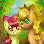 Apple Sisters by Schasti