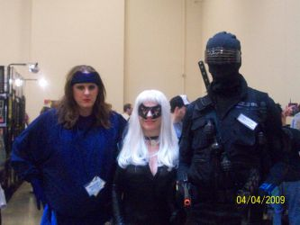 me, black cat and snake-eyes by thejamz