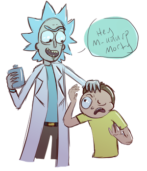 Mick and Rorty by JackieFungal
