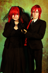 Utau cosplay impro : Kasane Twins by ThanEros