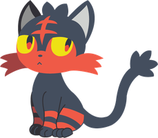 #725: Litten by CraftyKenzie