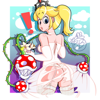 Pervy Piranha Plants by BeanieBomber
