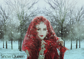 First Manip - Snow Queen by LenkaAshani