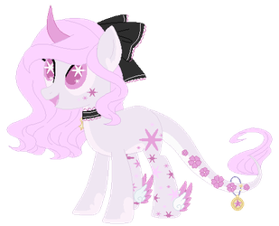 :CLOSED: Lolita Themed Lunar Wish Pony Adoptable by WishingWellBro