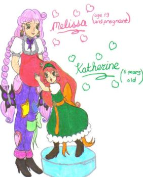 Melissa and Kat for BDCDude01 by Winter-Colorful