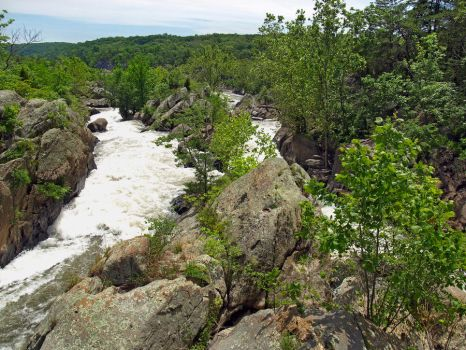 Great Falls of the Potomac 6 by Dracoart-Stock