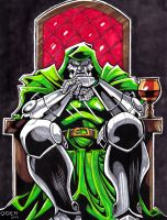 Victor von Doom by GREAT-ODEN