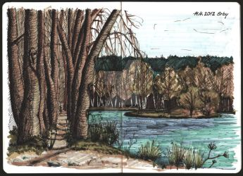 Turyn pond - colored by IBBK